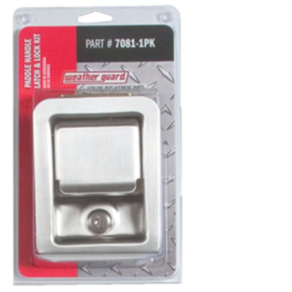 Weather Guard 7081-1PK Paddle Handle Latch & Lock Kit