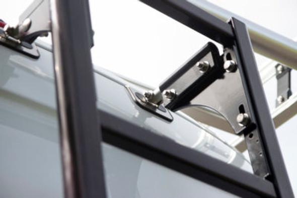 "Prime Design Roof Ladder AAL-8012-BLK RAM ProMaster | 90"" Low Roof / Black"