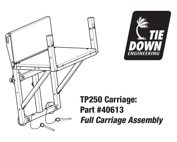 TranzSporter 40613 Full Carriage Assembly for TP250