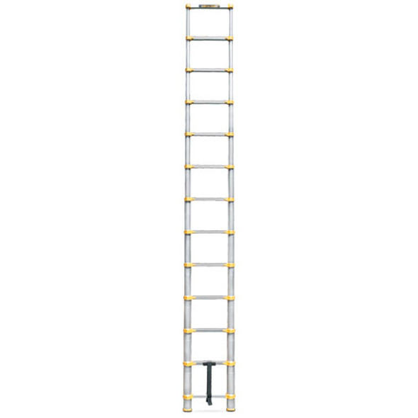 MetalTech E-LAD12T2 12.5' Telescopic Ladder | 250 lb. Rating