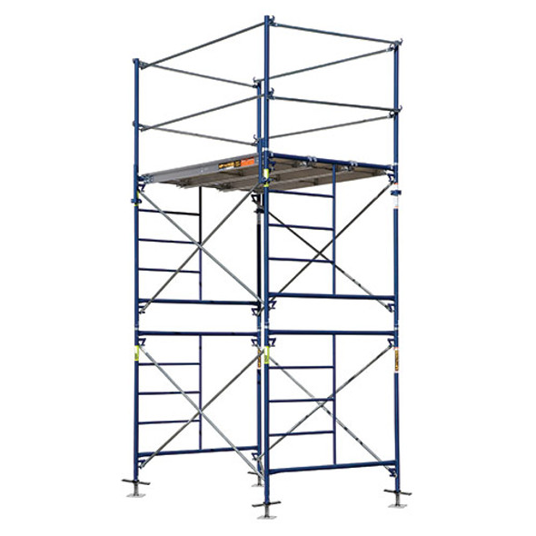 """MetalTech M-MFT5710 Complete Scaffold Tower with 24"""" Solid Screw Jacks 