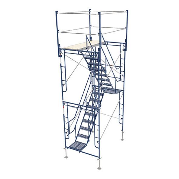 MetalTech M-MATST5713 2 Story Stairway Tower