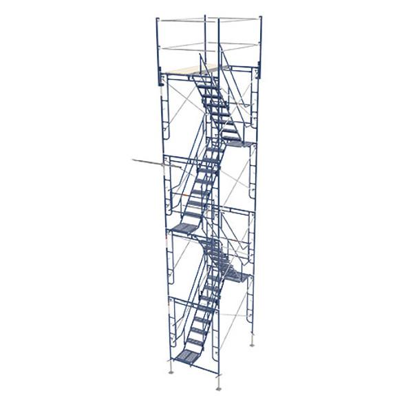 MetalTech M-MATST5726 4 Story Stairway Tower