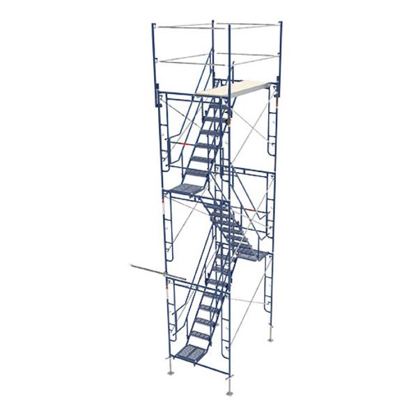 MetalTech M-MATST5719 3 Story Stairway Tower