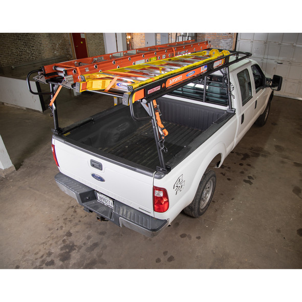 Weather Guard Model 1175-52-02 Steel Truck Rack, Full Size Pickup, 1700 lb. Capacity