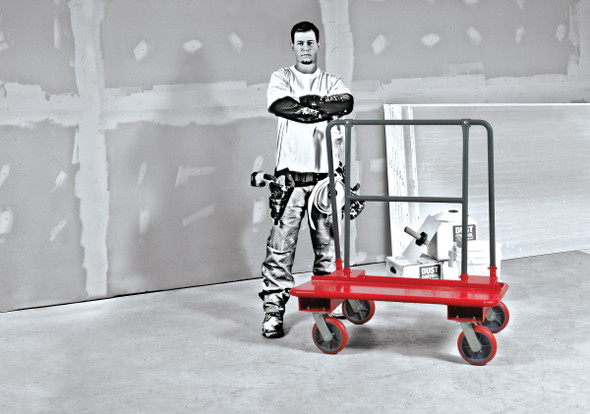 MetalTech WALL HAULER™ Series 3000 Drywall Cart – PERMAQUICK™