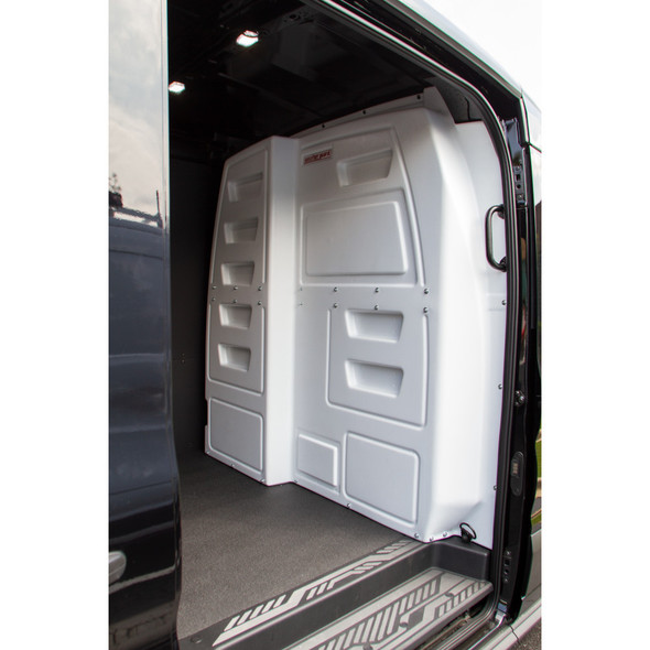 WeatherGuard Model 96310-3-01 CabMax™ Composite Bulkhead | Fits Mid-Roof & High Roof* Ford Transit