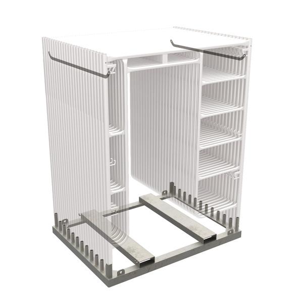 MetalTech M-MFRACKGV Scaffolding Rack (Galvanized)