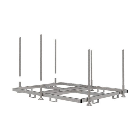 MetalTech CT-SAFERRACK  Transport and Storage System | for use with PROTEC & PROTEC PLUS Fencing