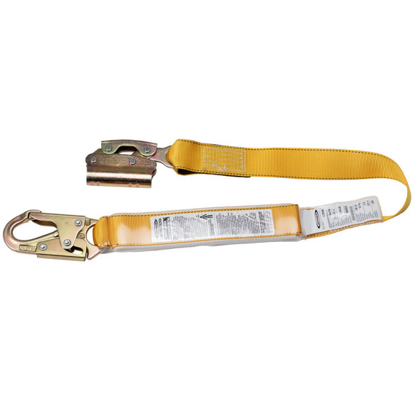 Werner L210106 - 3 ft. Manual Rope Adjuster with Shock Absorbing Lanyard