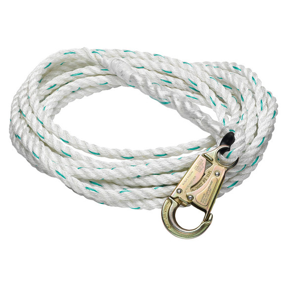 "Werner Vertical Lifelines Poly-dac 5/8"" Blend Rope"