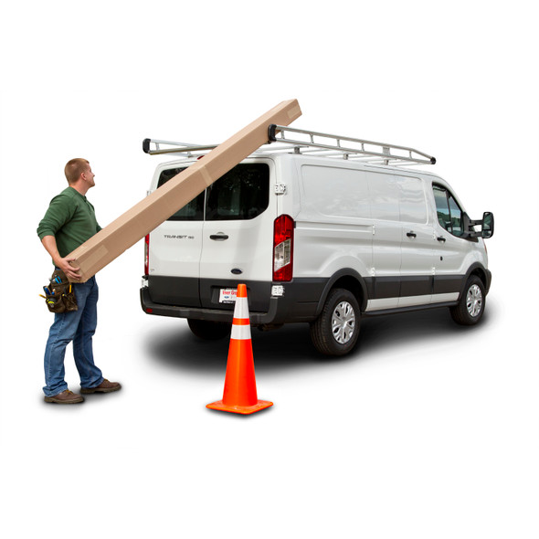 "Prime Design AR1912 Ladder Rack for Ford Transit | 148"" WB Mid-Roof"