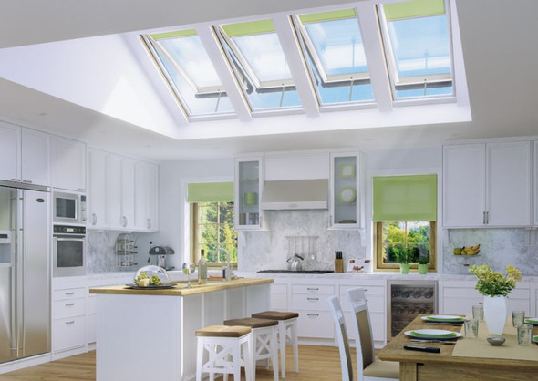 Fakro Model FV - Premium Deck Mounted Manual Venting Skylight
