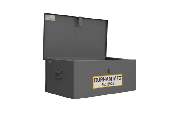 Durham Welders Box, Jobsite Box, 3.3 cu. ft., 14 Gauge Steel, 30-11/16 x 17-3/8 x 12-3/16, Gray