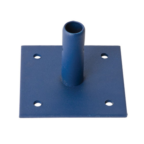 "MetalTech M-MBBF | 6"" X 6"" Powder Coated Scaffold Base Plate"