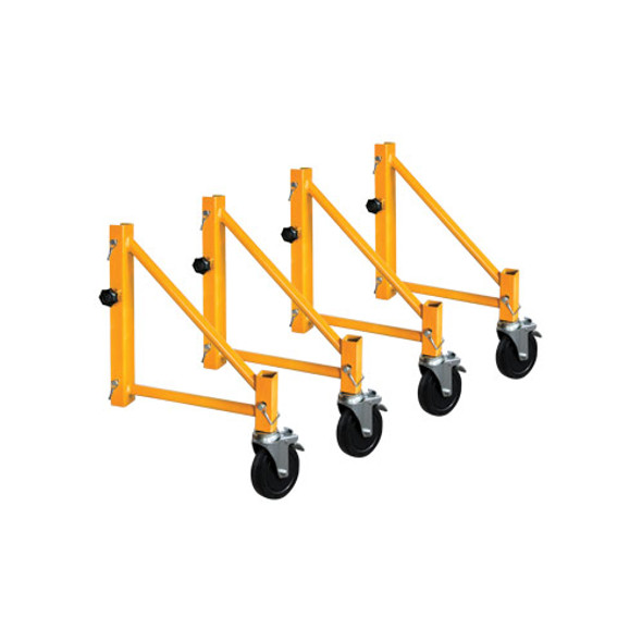MetalTech #I-CISO4 14″ Outriggers with Casters (Set of 4)