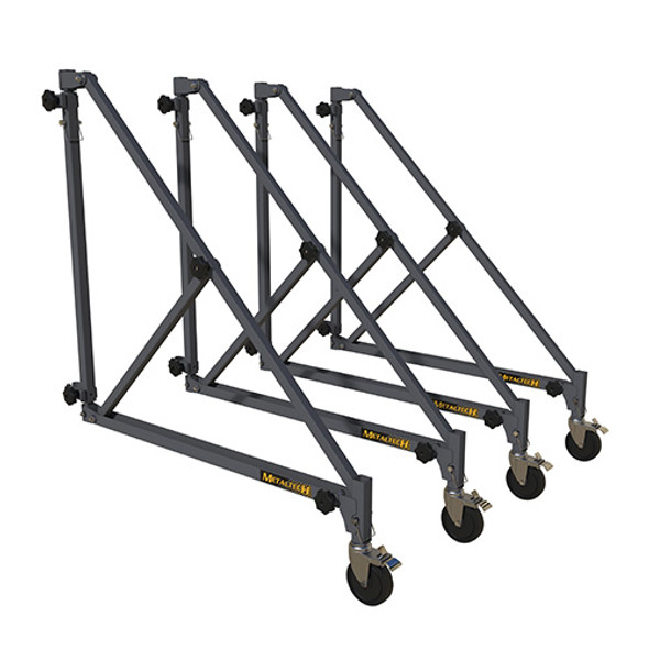 MetalTech #I-BMSO4TT 46″ Universal Outriggers with Casters (Set of 4)