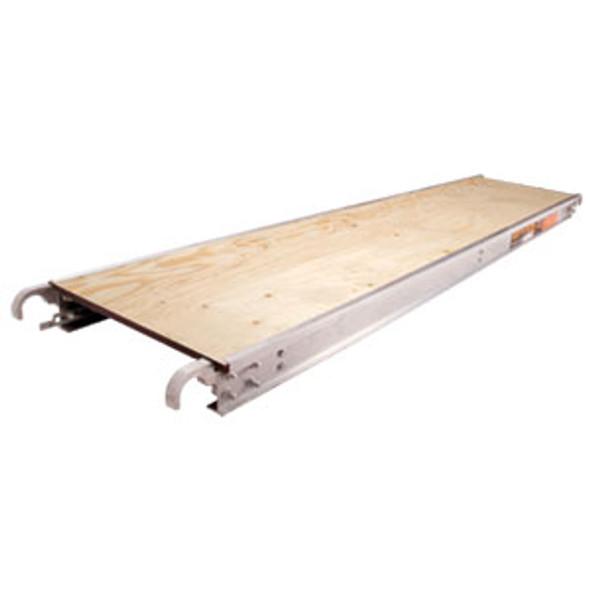 "MetalTech Scaffold Plank M-MPP719 |  7' x 19"" (Wood Deck)"