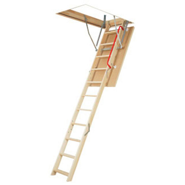 "Fakro 66809 LWP Wood Attic Ladder | 30"" x 54"" Opening 