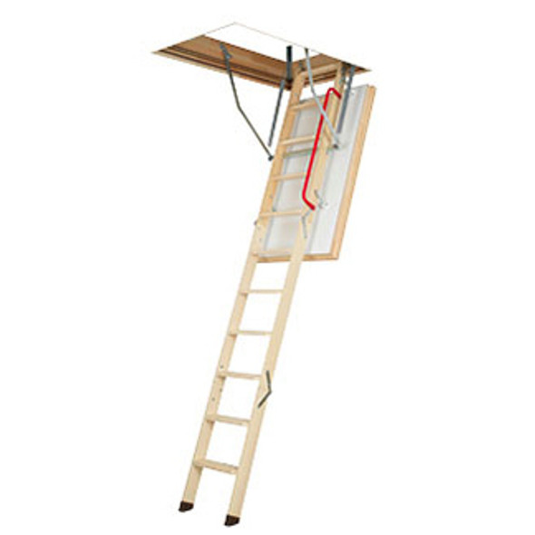 """Fakro 66892 LWT Thermo Wood Attic Ladders  25"""" x 47"""" Opening 