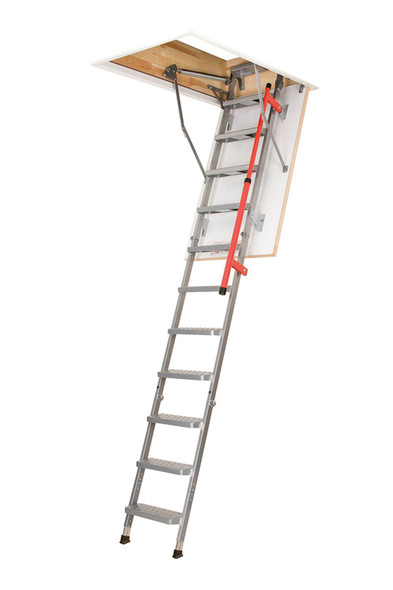 "Fakro 862453 LML Luxury Metal Attic Ladder | 27.5"" x 51"" Opening 