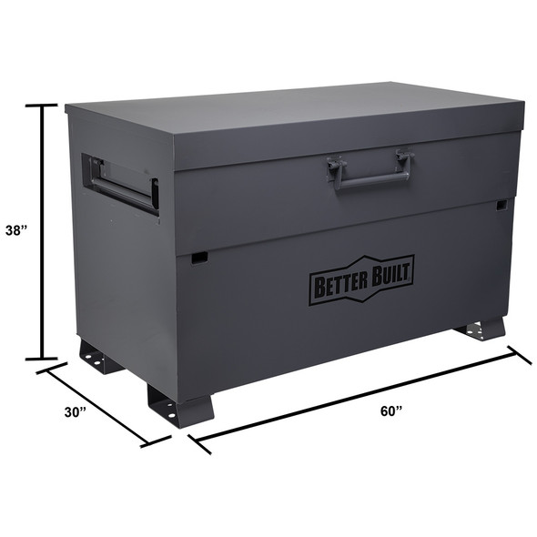 "BETTER BUILT 2069-BB | 60"" Jobsite Storage Low Profile Piano Box"
