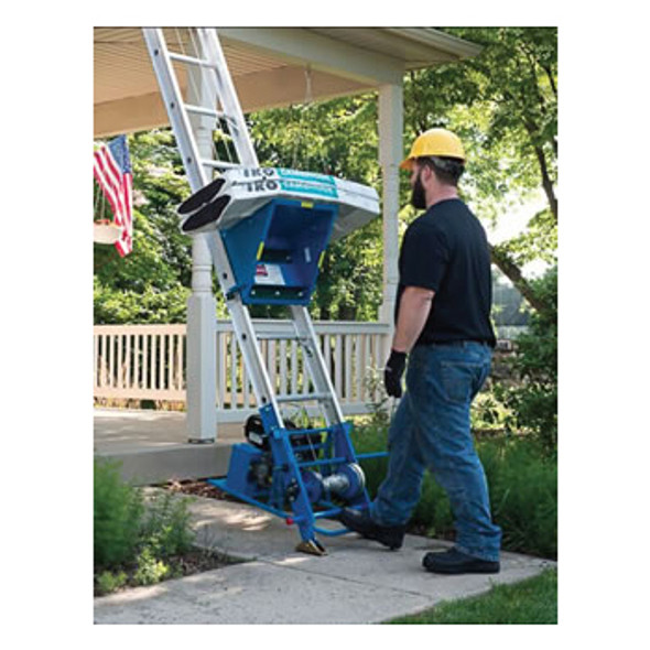 Customer Loyalty Sale | Safety Hoist CH200H Platform Hoist 26-1/2 ft | Honda Gas Engine | 200 lb. Capacity