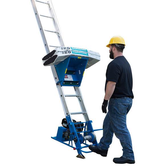 Customer Loyalty Sale! | Safety Hoist CH200H Platform Hoist 26-1/2 ft | Honda Gas Engine | 200 lb. Capacity