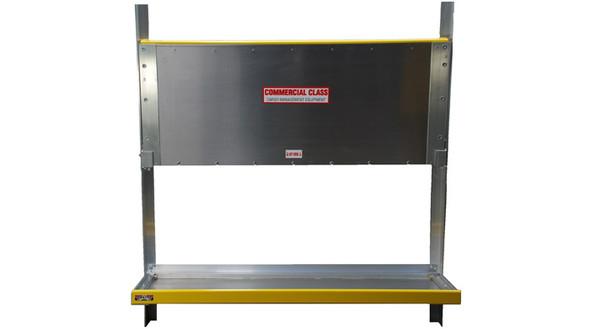 "Unique HFS2256P Folding Shelf Assembly | 22"" Deep x 56"" Long "" | fits Ram ProMaster | 2 Shelves per assembly"