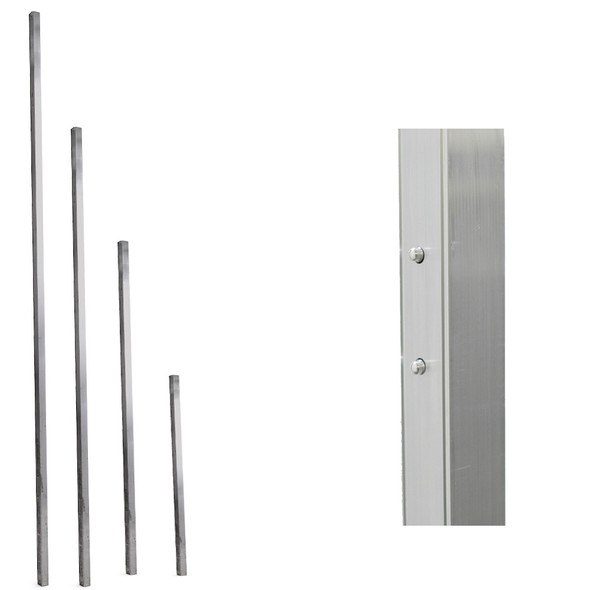 Werner Aluminum 6' Pump-Jack Pole