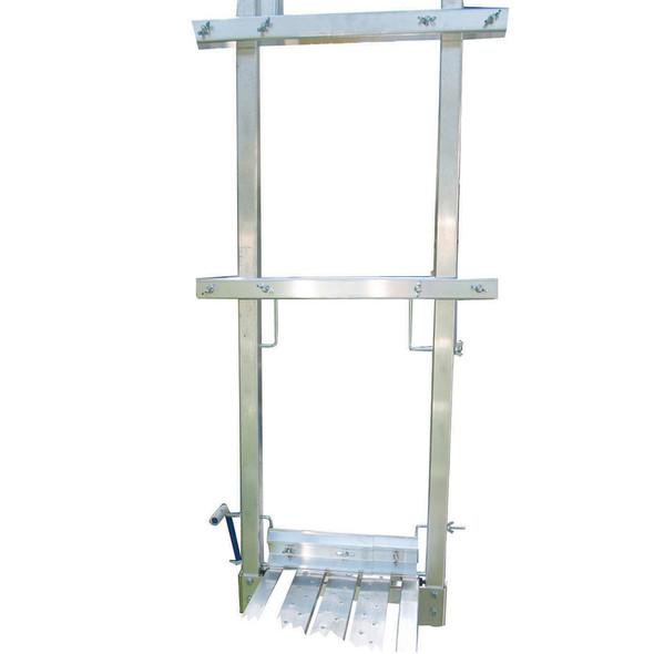 "Werner PJ-ERN Pump-Jack Pole System Stage End Rail Kits | Fits up to 14"" Stages"