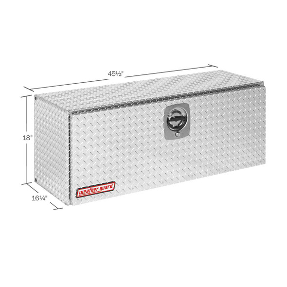 WeatherGuard Model 347-X-02 Super Hi-Side Box, Aluminum, 11.8 cu ft