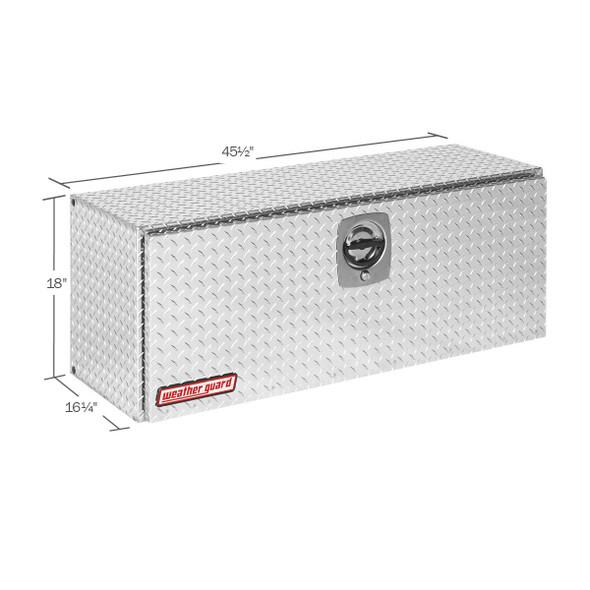 Weather Guard Model 347-X-02 Super Hi-Side Box, Aluminum, 11.8 cu ft