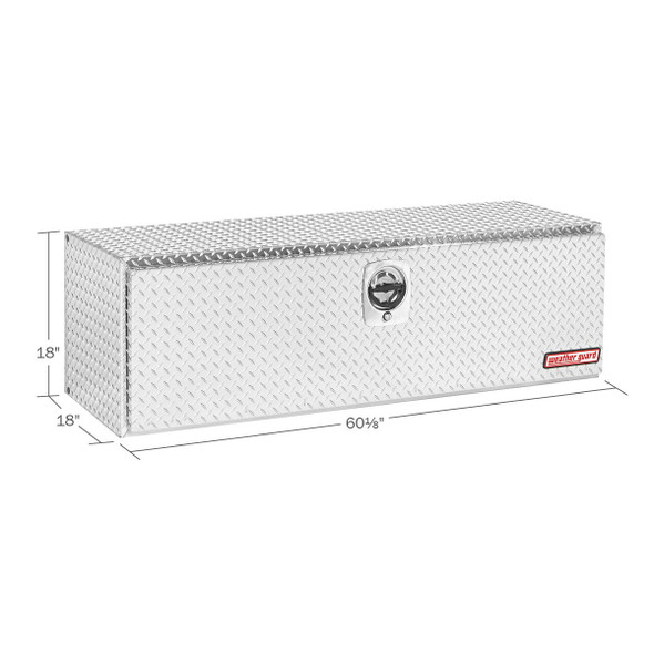 WeatherGuard Model 660-X-02 Underbed Box, Aluminum, Compact, 11.2 cu ft