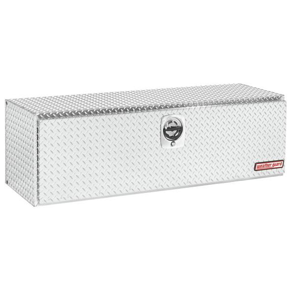 Weather Guard Model 660-X-02 Underbed Box, Aluminum, Compact, 11.2 cu ft