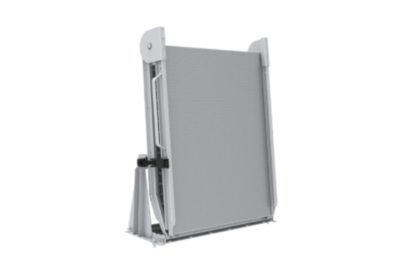 Link Mfg. | LB20-SA Series Bi-fold Mount / Mounted Aluminum Ramps with SPRING ASSIST