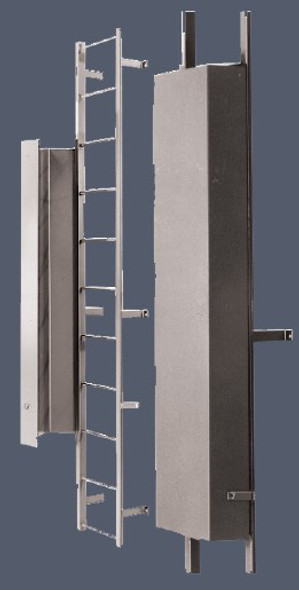 Cotterman LG-6 | 6' Ladder Guard for Fixed Ladders