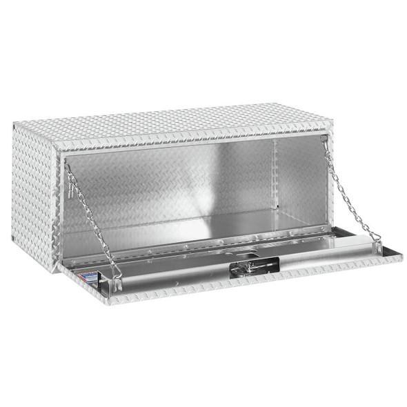 Weather Guard Model 648-0-02 Underbed Box, Aluminum, Compact, 8.6 cu ft