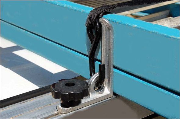 """System One - A106   5"""" Ladder Stop/Anchor w/ Knob"""