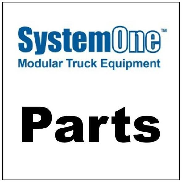 "System One - A500 | SS Carr. Bolt, 3/8""x5"" w/locknut"