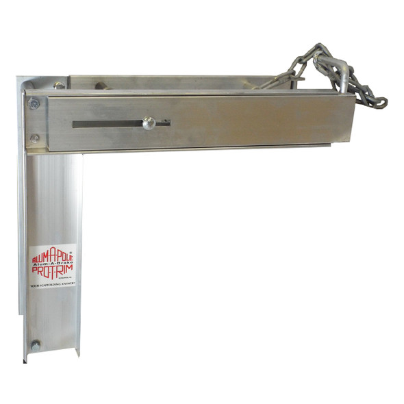 Alum-A-Pole | #APPB Aluminum Pump Jack Pro-Bench Holder / 2 or more required to hold additional stages as workbench