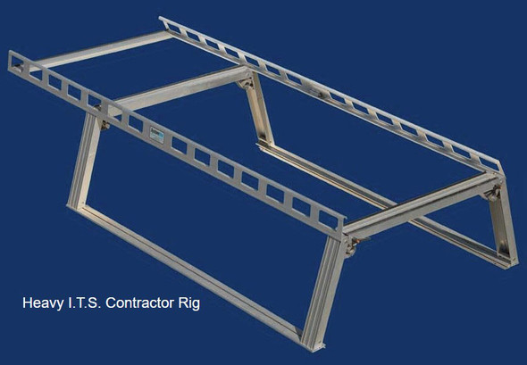 System One - Contractor Rig® Pickup Truck Rack | All Full Size Pick-Ups, Dodge Dakota, Toyota Tundra with short beds and ext. cabs