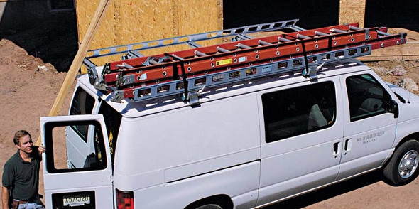 System One - Contractor Rig® Van Rack | All Full Size Vans Extended Length