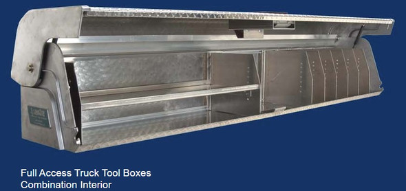 System One - Full Access Truck Tool Boxes | Full Access Combination Interior