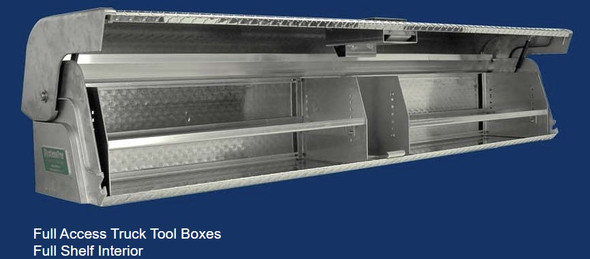 System One - Full Access Truck Tool Boxes | Full Access Shelf Interior