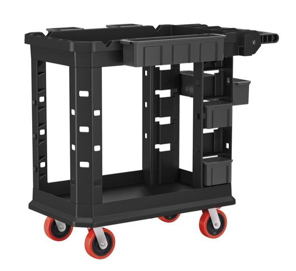 "Suncast PUCHD1937 Heavy Duty PLUS Utility Cart / 19.5"" W x 41.78"" L x 34.81"" H"