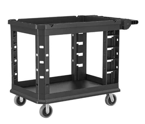"Suncast PUCSD2645 Heavy Duty Utility Cart / 26.5"" W x 48.78"" L x 34.81"" H"