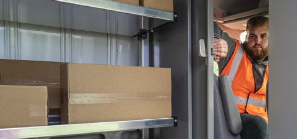 Adrian Steel #PARSPH  53853 Sliding Partition, Sprinter High Roof