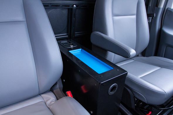 "Adrian Steel #TDC6 Tech Desk, 6"", Black / Fits the Ford Transit Cargo Vans"