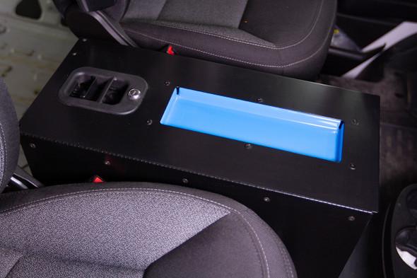 "Adrian Steel #TDC10 Tech Desk, 10"", Black / Fits The Ram ProMaster Cargo Vans"